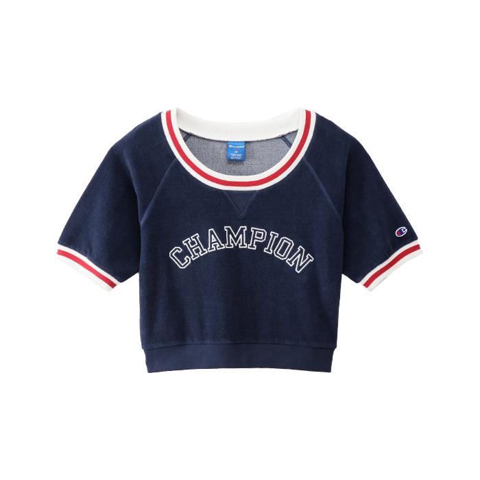 ウィメンズ ショートスリーブシャツ 18SS 【春夏新作】アクティブスタイル チャンピオン(CW-MS005)