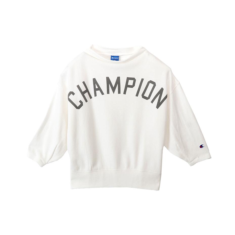 ウィメンズ ボトルネックスウェットシャツ 18SS アクティブスタイル チャンピオン(CW-MS006)