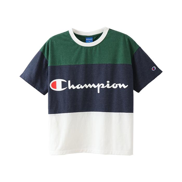 ウィメンズ Tシャツ 18SS 【春夏新作】アクティブスタイル チャンピオン(CW-MS326)