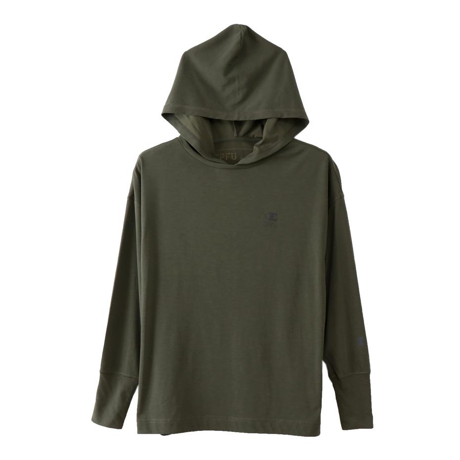 ウィメンズ フードTシャツ 18SS CPFU チャンピオン(CW-MS401)