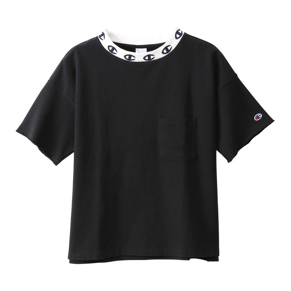 ウィメンズ ショートスリーブクルーネックスウェットシャツ 19SS【春夏新作】チャンピオン(CW-P012)
