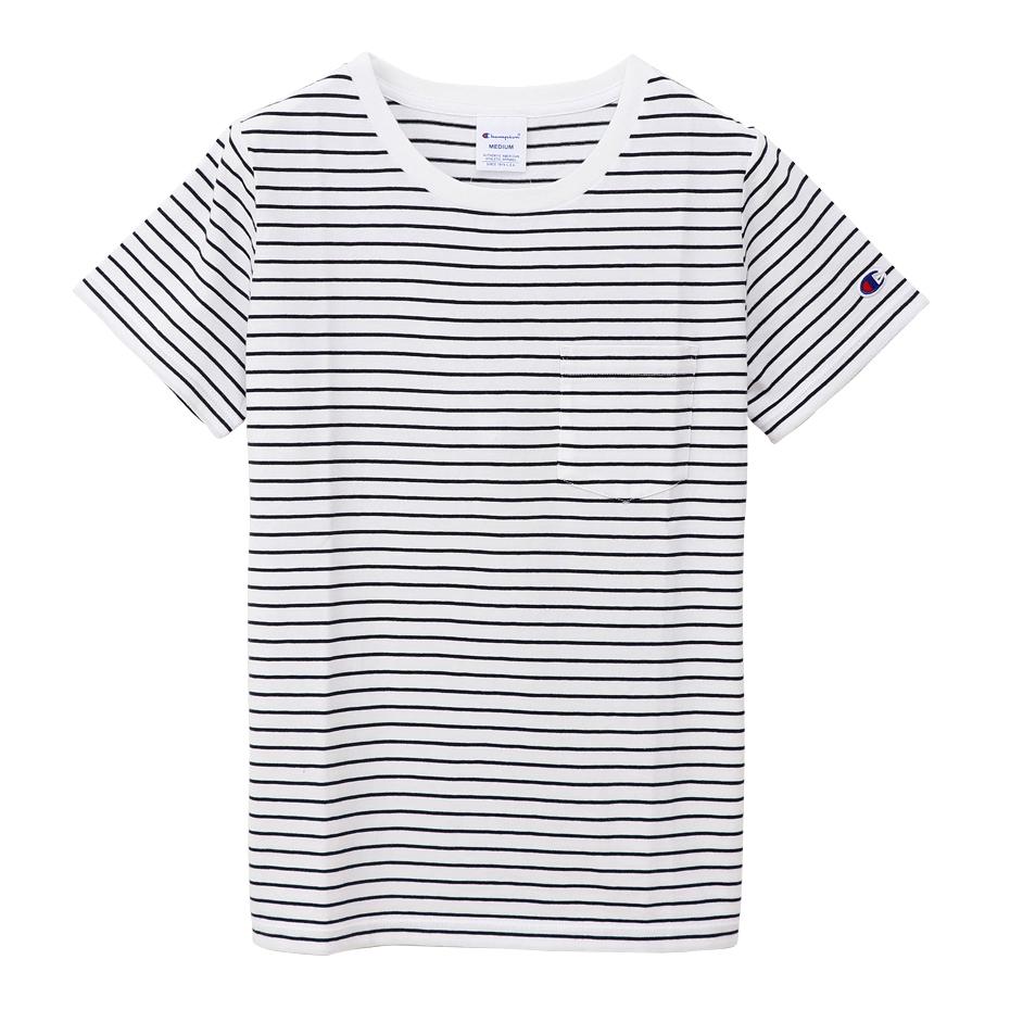 ウィメンズ ポケットTシャツ 19FW チャンピオン(CW-P301)