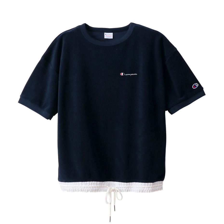 ウィメンズ ショートスリーブパイルTシャツ 19SS チャンピオン(CW-P322)