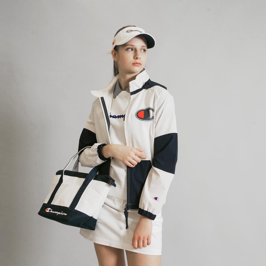 ウィメンズ フルジップジャケット 19SS【春夏新作】GOLF チャンピオン(CW-PG602)