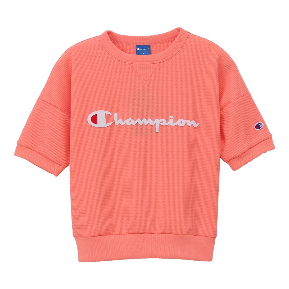 ウィメンズ クルーネックシャツ 19SS アクティブスタイル チャンピオン(CW-PS001)