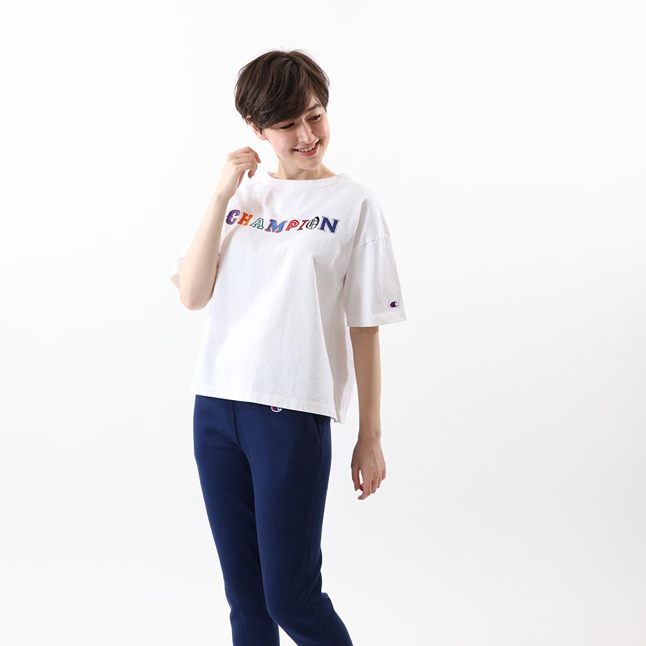 ウィメンズ Tシャツ 19FW【秋冬新作】チャンピオン(CW-Q302)