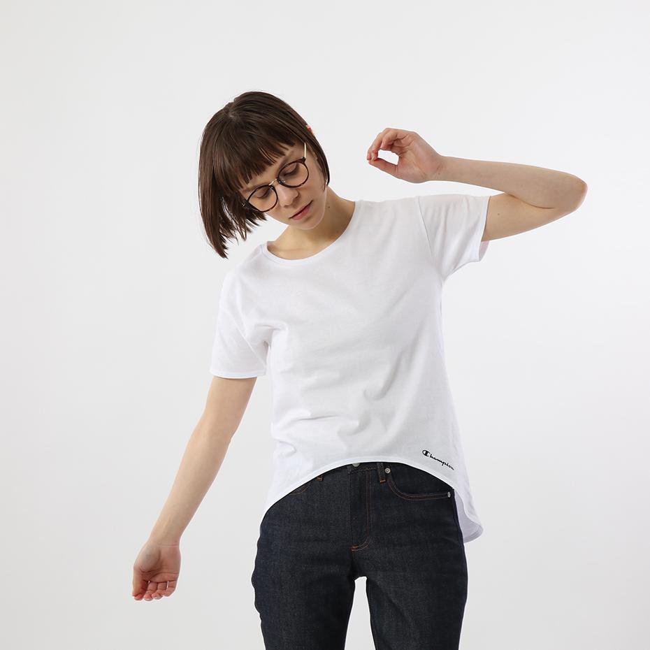 ウィメンズ Tシャツ 19SS【春夏新作】チャンピオン(CW1-P101)