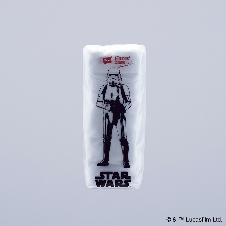 "Hanes Japan Fit ""STAR WARS"" Special Limited Pack"