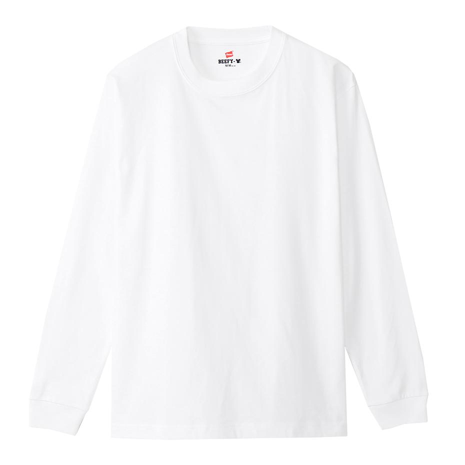 【2枚組】ビーフィーロングスリーブTシャツ 20FW 【秋冬新作】BEEFY-T ヘインズ(H5186-2)