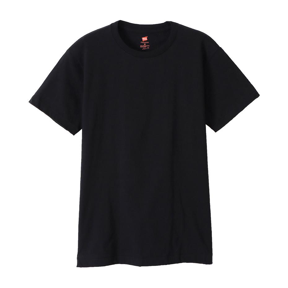 ヘインズ プレミアムジャパンフィット クルーネックTシャツ 19FW PREMIUM Japan Fit(HM1-F001)