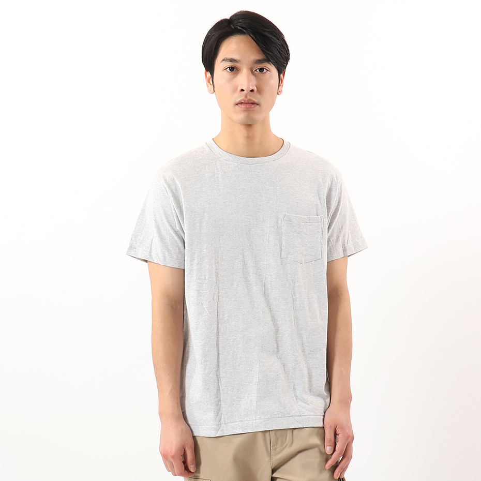 ヘインズ プレミアムジャパンフィット ポケット付クルーネックTシャツ 19SS PREMIUM Japan Fit(HM1-F004)
