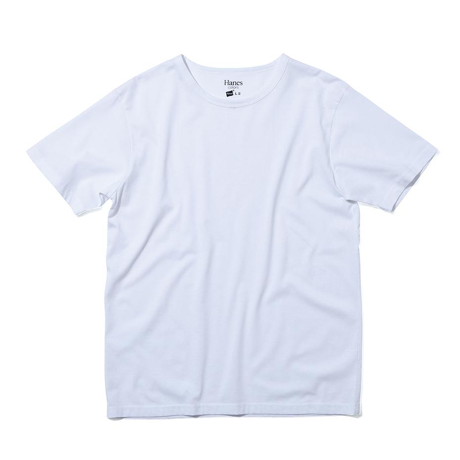 クルーネックTシャツ 20FW Hanes colors ヘインズ(HM1-P101)