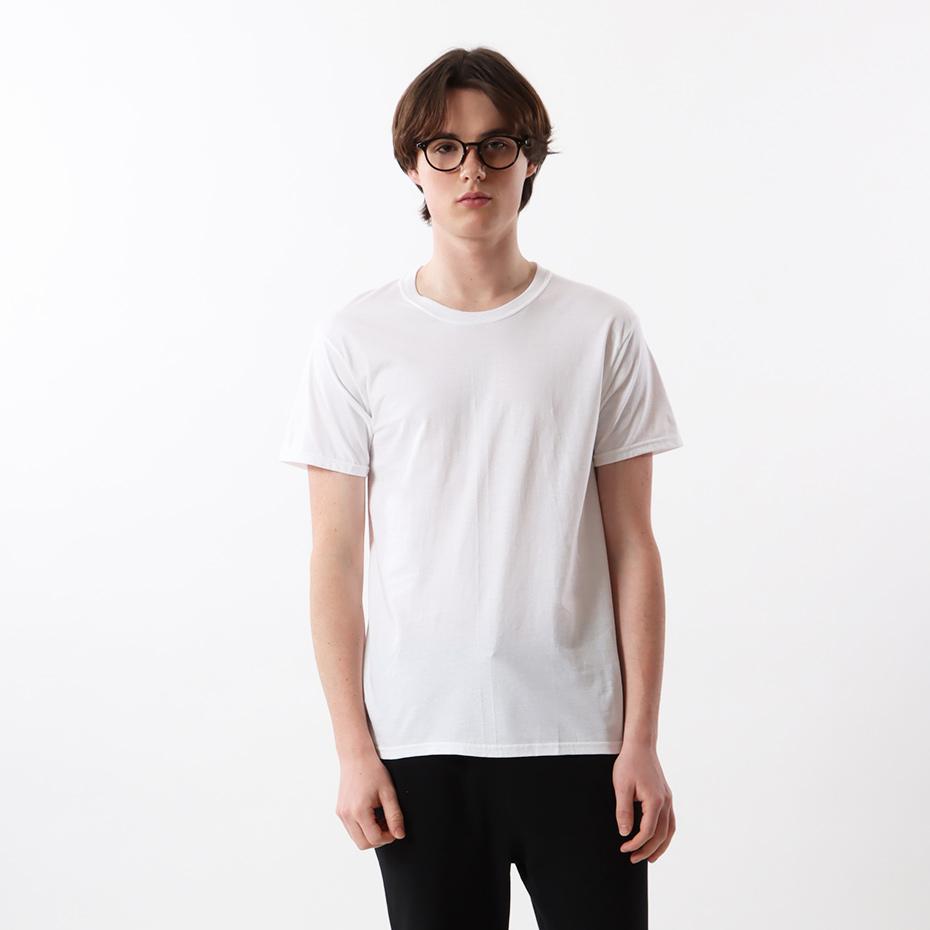 【2枚組】ビジカジ魂 クルーネックTシャツ 19SS 魂シリーズ ヘインズ(HM1EN701)