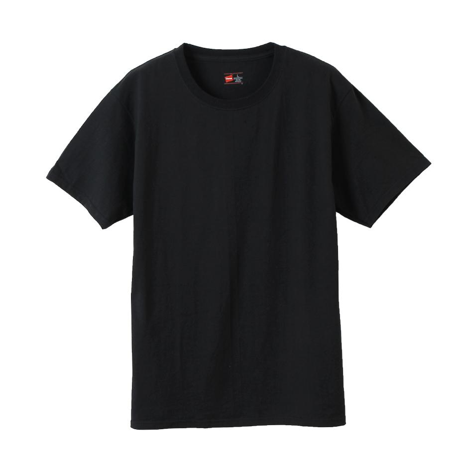【2枚組】ビジカジ魂 クルーネックTシャツ 20SS 魂シリーズ ヘインズ(HM1EN701)