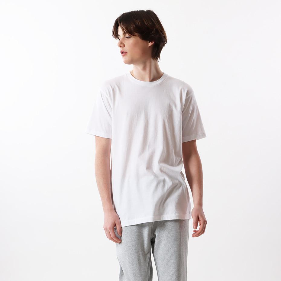 【3枚組】アカラベルクルーネックTシャツ 20SS 赤パック ヘインズ(HM2135G)
