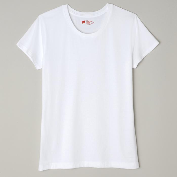 ウィメンズ ジャパンフィット【2枚組】クルーネックTシャツ 18FW Japan Fit for HER ヘインズ(HW5120)