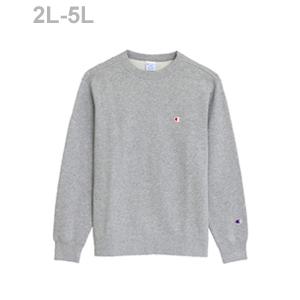 大きいサイズ クルーネックスウェットシャツ 18FW ベーシック チャンピオン(C3-C019L)