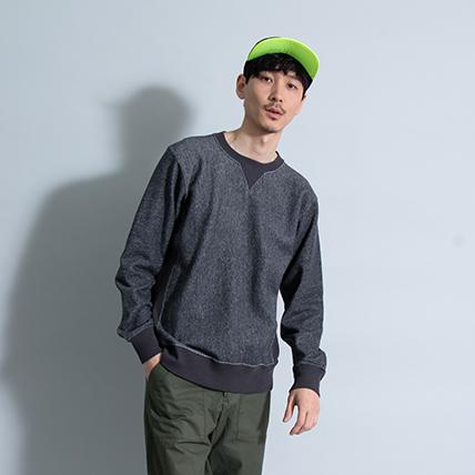リバースウィーブクルーネックスウェットシャツ(10oz) 18SS リバースウィーブチャンピオン(C3-K001)