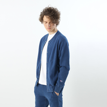 リバースウィーブスナップジャケット(10oz) 18SS 【春夏新作】リバースウィーブ チャンピオン(C3-M003)