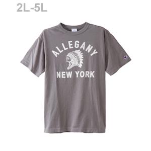 大きいサイズ Tシャツ 18SS 【春夏新作】キャンパス チャンピオン(C3-M325L)