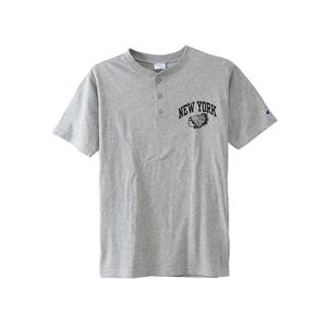 ヘンリーネックTシャツ 18SS キャンパス チャンピオン(C3-M334)
