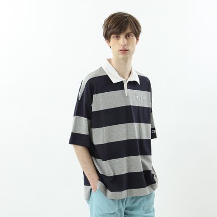ユニセックス ラガーシャツ 18SS 【春夏新作】キャンパス チャンピオン(C3-M348)