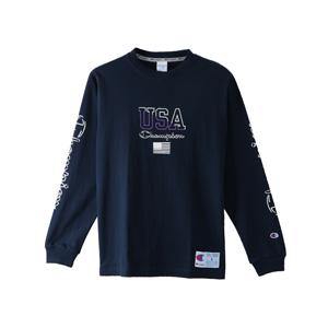 ロングスリーブTシャツ 18SS アクションスタイル チャンピオン(C3-M413)