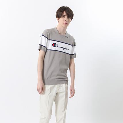 ニットポロシャツ 18SS GOLF チャンピオン(C3-MSA01)