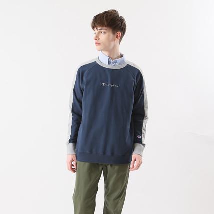ラグランクルーネックスウェットシャツ 18FW 【秋冬新作】キャンパス チャンピオン(C3-N016)