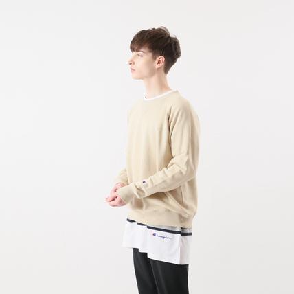 ラグランクルーネックスウェットシャツ 18FW 【秋冬新作】キャンパス チャンピオン(C3-N017)