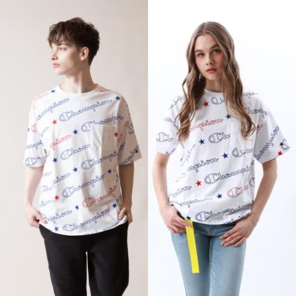 ユニセックス ポケットTシャツ 18FW 【秋冬新作】キャンパス チャンピオン(C3-N301)