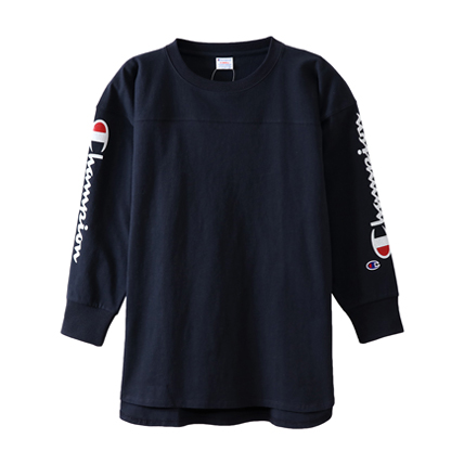ユニセックス ロングスリーブTシャツ 18FW キャンパス チャンピオン(C3-N413)