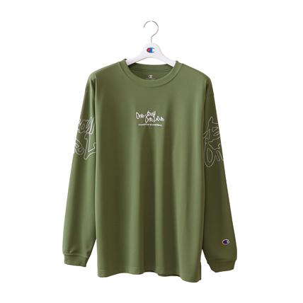 プラクティスロングスリーブTシャツ 18FW E-MOTION チャンピオン(C3-NB410)