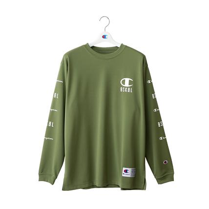 DRYSAVER ロングスリーブTシャツ 18FW 【秋冬新作】CAGERS チャンピオン(C3-NB441)