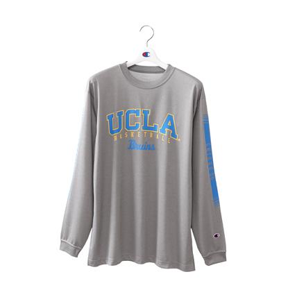 プラクティスロングスリーブTシャツ 18FW 【秋冬新作】UCLA チャンピオン(C3-NB465)