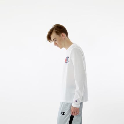 C VAPOR COOL ロングスリーブTシャツ 18FW 【秋冬新作】TRAINING チャンピオン(C3-NS421)