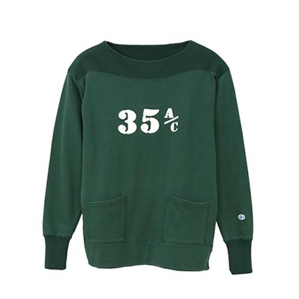 ボートネックスウェットシャツ 19SS【春夏新作】ロチェスター チャンピオン(C3-P004)