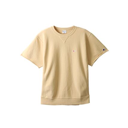 リバースウィーブ ハーフスリーブクルーネックスウェットシャツ(10oz) 19SS リバースウィーブ チャンピオン(C3-P016)
