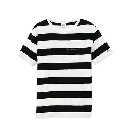 ポケット付きボーダーTシャツ 19SS【春夏新作】ロチェスター チャンピオン(C3-P332)