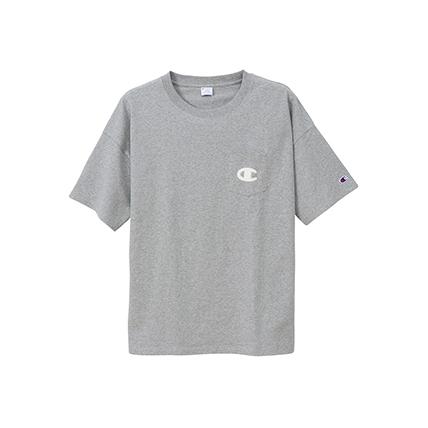 ユニセックス ポケットTシャツ 19SS キャンパス チャンピオン(C3-P357)