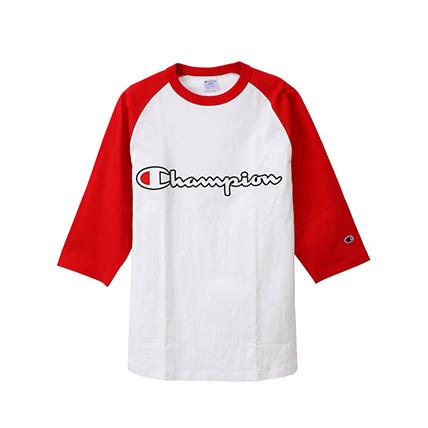 ラグラン3/4スリーブ【7分袖】Tシャツ 19FW アクションスタイル チャンピオン(C3-P405)