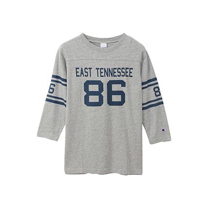 3/4スリーブ【7分袖】フットボールTシャツ 19SS キャンパス チャンピオン(C3-P414)