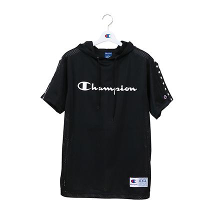 メッシュパーカーTシャツ 19SS【春夏新作】CAGERS チャンピオン(C3-PB346)