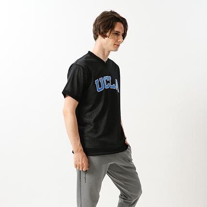 プラクティスメッシュシャツ 19SS【春夏新作】UCLA チャンピオン(C3-PB363)