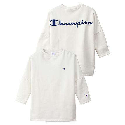 ユニセックス クルーネックスウェットシャツ 19FW【秋冬新作】キャンパス チャンピオン(C3-Q034)