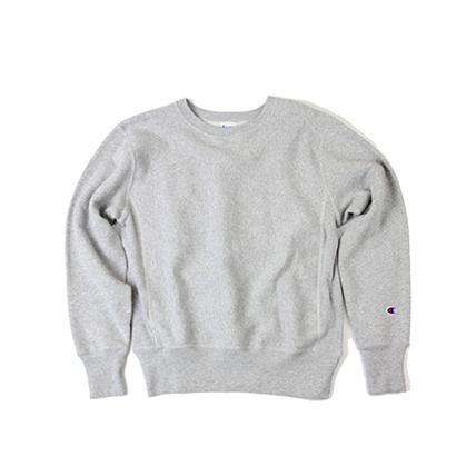 リバースウィーブ(青タグ) クルーネックスウェットシャツ(11.5oz) 18FW リバースウィーブ チャンピオン(C3-W004)