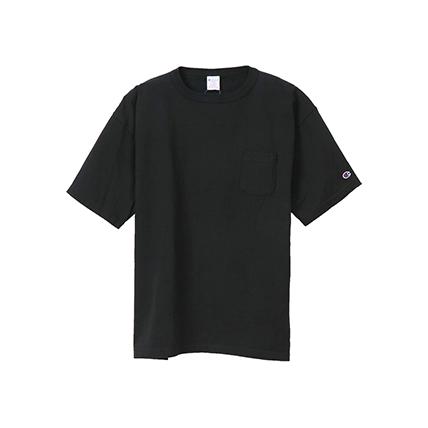 T1011(ティーテンイレブン) ポケット付き US Tシャツ 18SS MADE IN USA チャンピオン(C5-B303)