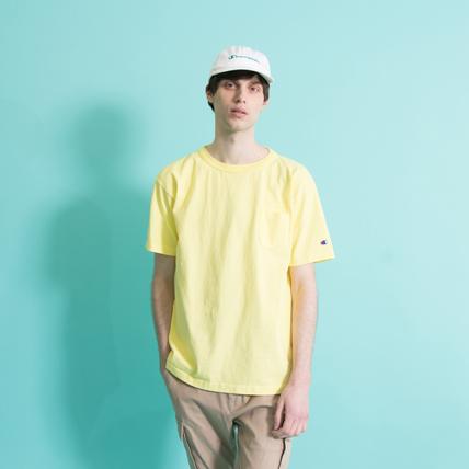 T1011(ティーテンイレブン) ポケット付き US Tシャツ 18SS 【春夏新作】MADE IN USA チャンピオン(C5-M304)