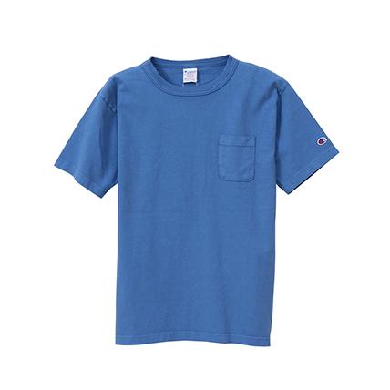 T1011(ティーテンイレブン) ポケット付き US Tシャツ 19SS【春夏新作】MADE IN USA チャンピオン(C5-P305)