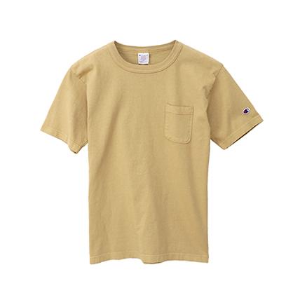 T1011(ティーテンイレブン) ポケット付き US Tシャツ 19SS MADE IN USA チャンピオン(C5-P305)
